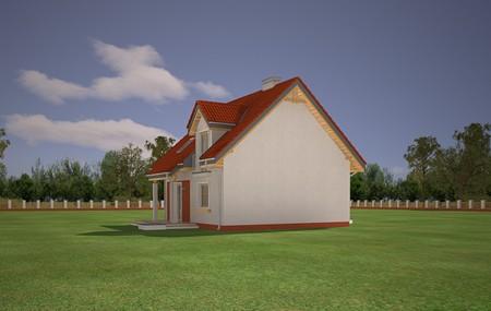 Animacja - Projekt domu Michałek