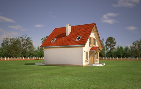 Animacja - Projekt domu Michalina