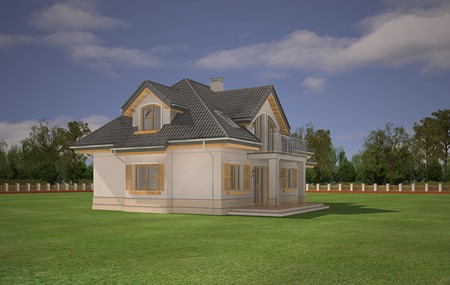 Animacja - Projekt domu Gabryś