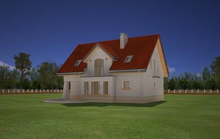 Animacja - Projekt domu Koniczynka