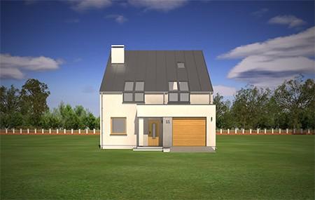 Animacja - Projekt domu Leo