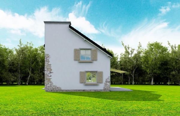 Animacja - projekt domu Prowansalski