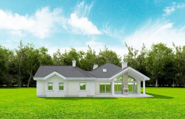 Animacja - projekt domu Rezydencja Parkowa