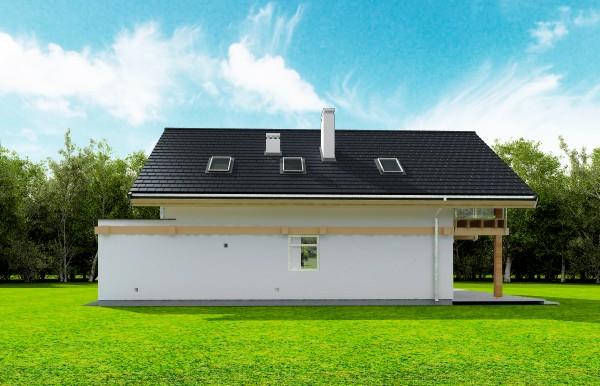 Animacja - Projekt domu Otwarty 3