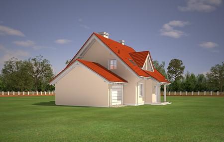 Animacja - Projekt domu Orlik
