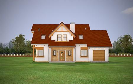 Animacja - Projekt domu Bartek