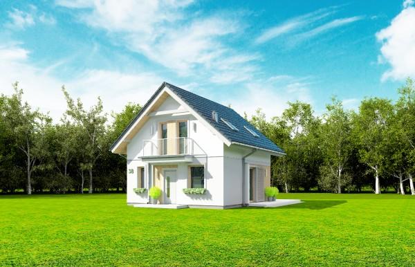 Animacja - Projekt domu Oleńka