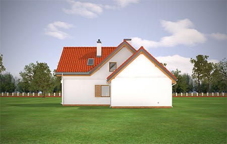 Animacja - Projekt domu Lucky