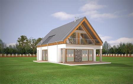 Animacja - Projekt domu Domino