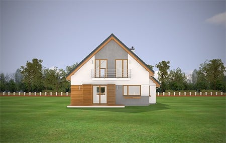 Animacja - Projekt domu Konwalia