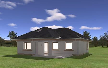 Animacja - projekt domu Bukszpan