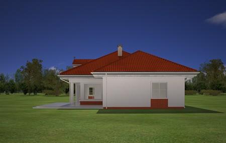 Animacja - projekt domu Afrodyta