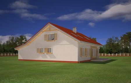Animacja - Projekt domu Nektarynka