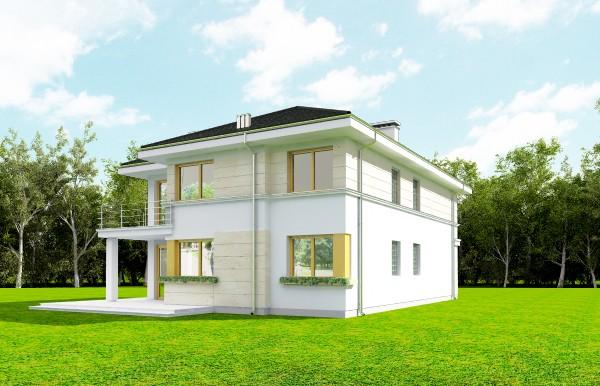 Animacja - Projekt domu Riwiera 2