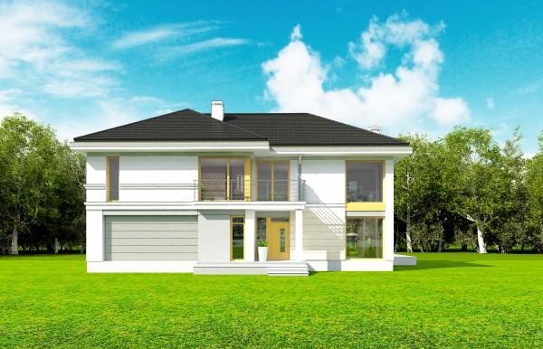 Animacja - Projekt domu Riwiera 3