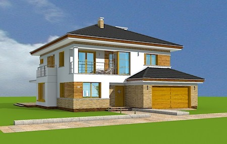 Animacja - projekt domu Opal