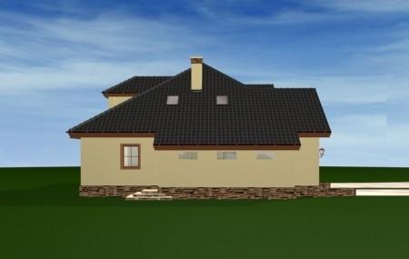 Animacja - projekt domu Zacisze 2