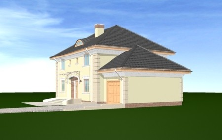 Animacja - projekt domu Willowy