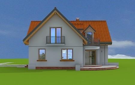 Animacja - projekt domu Elka