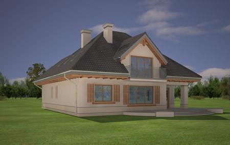Animacja - projekt domu Fantazja