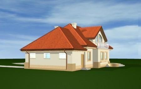 Animacja - projekt domu Faworyt