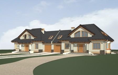 Animacja - projekt domu Faworyt 3