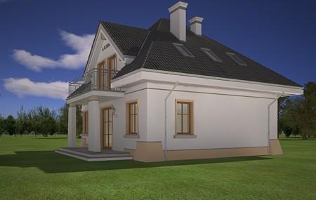 Animacja - projekt domu Figiel