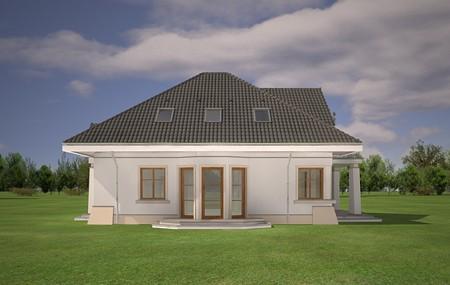 Animacja - projekt domu Figiel  2