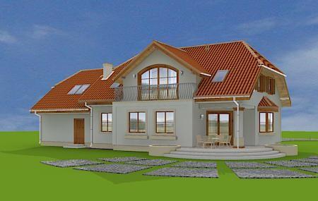 Animacja - projekt domu Fokus 2