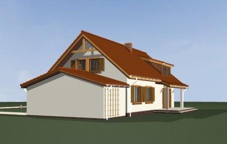 Animacja - projekt domu Fraszka 2