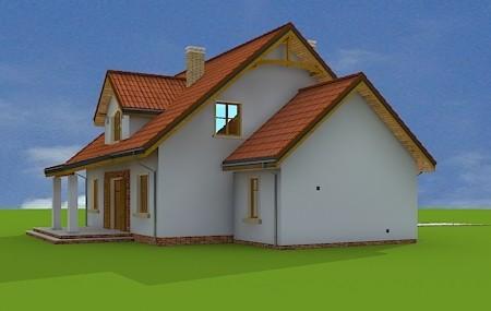 Animacja - projekt domu Gagatek