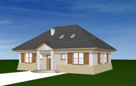 Animacja - projekt domu Gargamel