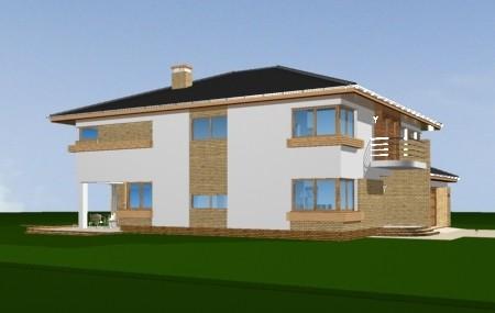 Animacja - projekt domu Gabriela