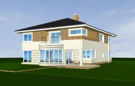 Animacja - projekt domu Gabriela 2