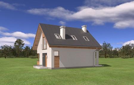 Animacja - projekt domu Gucio