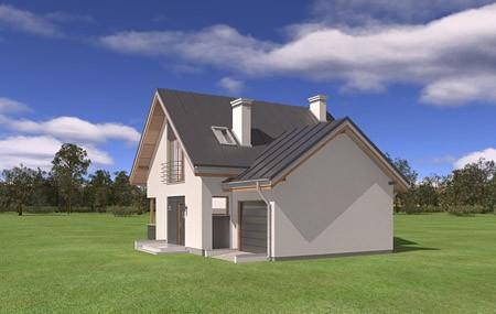 Animacja - projekt domu Gucio 2