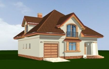 Animacja - projekt domu Gwiazda