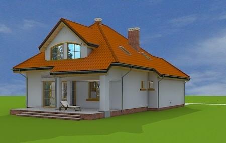 Animacja - projekt domu Zuzia