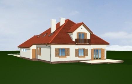 Animacja - projekt domu Hornówek 2