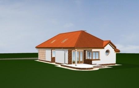 Animacja - projekt domu Jamnik