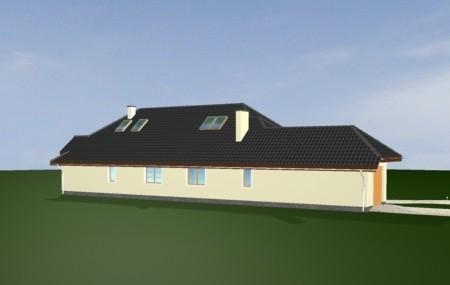 Animacja - projekt domu Jamnik 3