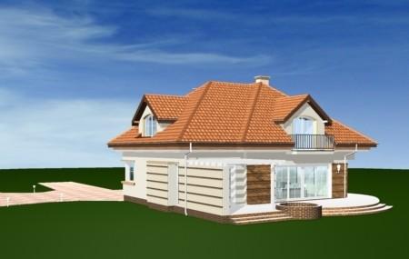 Animacja - projekt domu Siedziba