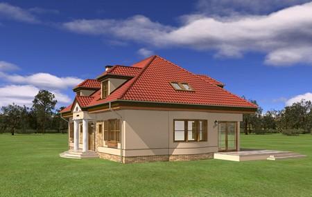 Animacja - projekt domu Hetman