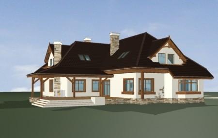 Animacja - projekt domu Jesion