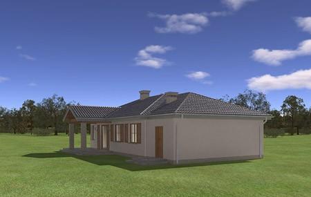 Animacja - projekt domu Czaruś
