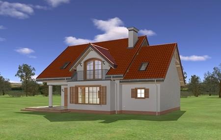 Animacja - projekt domu Julka 4