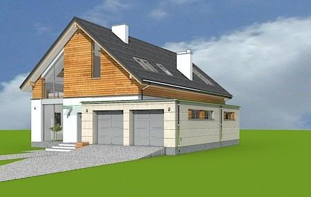 Animacja - projekt domu Jurajski