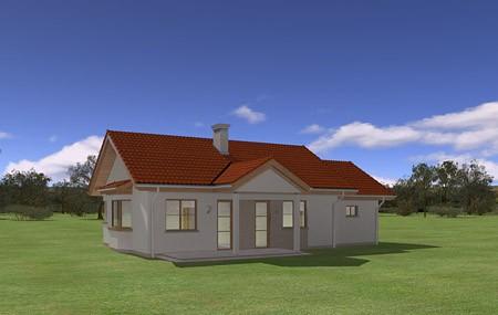 Animacja - projekt domu Perełka 2