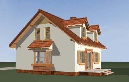 Animacja - projekt domu Klif