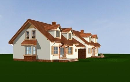 Animacja - projekt domu Szkwał
